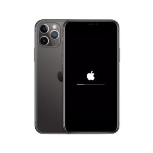 Service iPhone 11 Pro Stuck Logo
