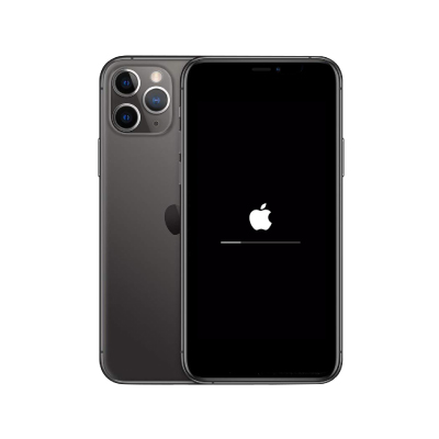 Service iPhone 11 Pro Stuck Logo