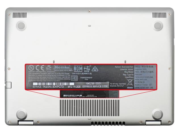Identifikasi Model Laptop