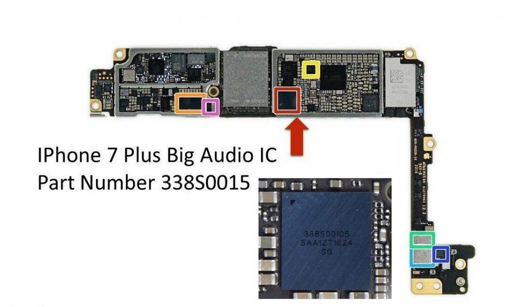 Service IC Audio iPhone 7 Plus 338s0015