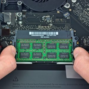 Upgrade ram MacBook Pro