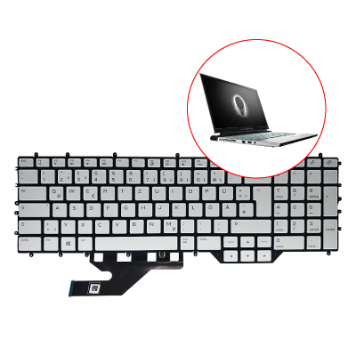 service keyboard Alienware M17 R2